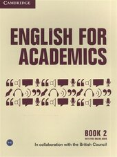 English for Academics: English for Academics 2 Book with Online Audio - фото обкладинки книги