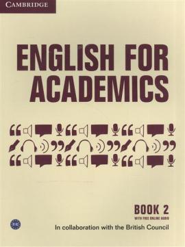English for Academics: English for Academics 2 Book with Online Audio - фото книги