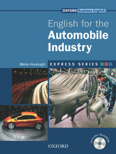 English for Automobile Industry: Student's Book with MultiROM - фото обкладинки книги