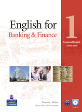 English for Banking and Finance 1 Student's Book + CD-Rom (підручник) - фото обкладинки книги