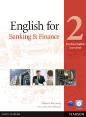 English for Banking and Finance 2 Student's Book + CD-Rom (підручник) - фото обкладинки книги