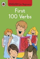 English for Beginners: First 100 Verbs - фото обкладинки книги