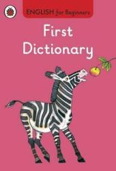 English for Beginners: First Dictionary - фото обкладинки книги