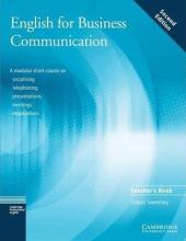 English for Business Communication 2nd Edition. Teacher's book - фото обкладинки книги