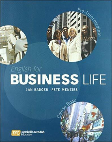 Підручник English for Business Life Pre-Intermediate