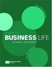 English for Business Life Trainer's Manual. Pre-Intermediate - фото обкладинки книги