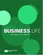 English for Business Life Trainer's Manual. Pre-Intermediate - фото обкладинки книги