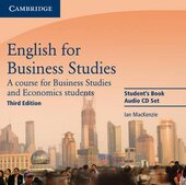 English for Business Studies 3rd Edition. Class Audio CDs (комплект із 2 аудіодисків) - фото обкладинки книги