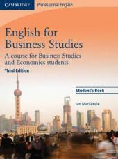 English for Business Studies 3rd Edition. Student's Book - фото обкладинки книги