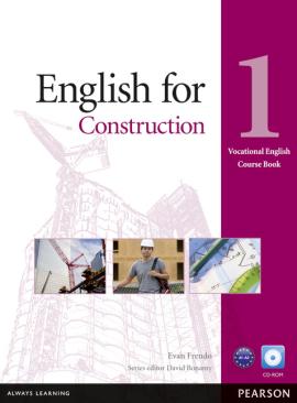 English for Construction 1 Student's Book + CD-ROM (підручник) - фото книги