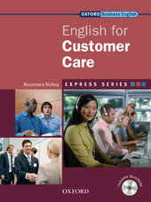 English for Customer Care: Student's Book with MultiROM - фото обкладинки книги