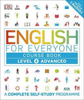 English for Everyone Course Book Level 4 Advanced : A Complete Self-Study Programme - фото обкладинки книги