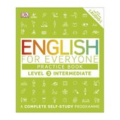 English for Everyone Practice Book Level 3 Intermediate : A Complete Self-Study Programme - фото обкладинки книги