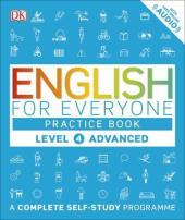 English for Everyone Practice Book Level 4 Advanced : A Complete Self-Study Programme - фото обкладинки книги