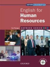 English for Human Resources: Student's Book with MultiROM - фото обкладинки книги