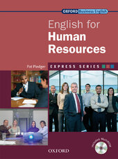 English for Human Resources: Student's Book with MultiROM - фото обкладинки книги