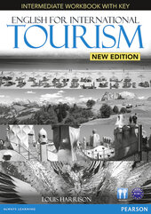 English for International Tourism New Edition Intermediate Workbook + CD (робочий зошит) - фото обкладинки книги