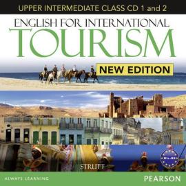 English for International Tourism New Edition Upper Intermediate Class СD's (аудіодиск) - фото книги