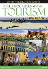 English for International Tourism New Upper-Intermediate Student's Book (підручник) - фото обкладинки книги