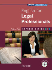 English for Lawyers: Student's Book with MultiROM - фото обкладинки книги