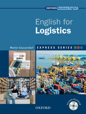 English for Logistics: Student's Book with MultiROM - фото обкладинки книги
