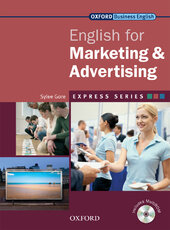 English for Marketing and Advertising: Student's Book with MultiROM - фото обкладинки книги