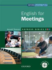 English for Meetings: Student's Book with MultiROM - фото обкладинки книги
