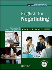English for Negotiating: Student's Book with MultiROM - фото обкладинки книги