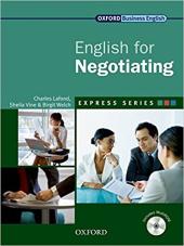 English for Negotiating: Student's Book with MultiROM - фото обкладинки книги