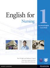English for Nursing 1 Student's Book + CD-Rom (підручник) - фото обкладинки книги