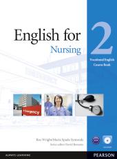 English for Nursing 2 Student's Book + CD-Rom (підручник) - фото обкладинки книги