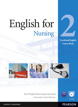 English for Nursing 2 Student's Book + CD-Rom (підручник) - фото книги