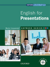 English for Presentations: Student's Book with MultiROM - фото обкладинки книги