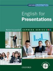 English for Presentations: Student's Book with MultiROM - фото обкладинки книги