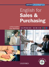 English for Sales and Purchasing: Student's Book with MultiROM - фото обкладинки книги