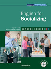 English for Socializing: Student's Book with MultiROM - фото обкладинки книги