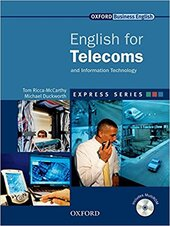 English for Telecoms: Student's Book with MultiROM - фото обкладинки книги