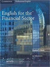 English for the Financial Sector Student's Book - фото обкладинки книги