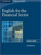English for the Financial Sector Teacher's Book - фото обкладинки книги