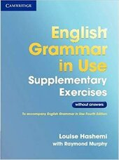 English Grammar in Use 3rd Edition Supplementary Exercises without answers - фото обкладинки книги