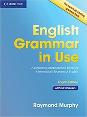 English Grammar in Use Fourth edition Book without answers - фото обкладинки книги