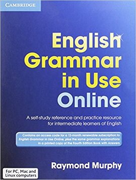 Посібник English Grammar in Use Fourth edition Online Access Code and Book with answers Pack