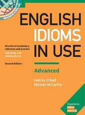 English Idioms in Use Advanced Book with Answers : Vocabulary Reference and Practice - фото обкладинки книги