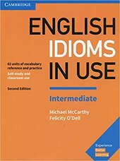 English Idioms in Use Intermediate Book with Answers : Vocabulary Reference and Practice - фото обкладинки книги