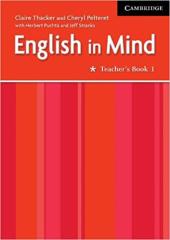 English in Mind 1 TB - фото обкладинки книги