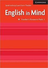 English in Mind 1 Teacher's Resource Pack - фото обкладинки книги