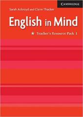 Робочий зошит English in Mind 1 Teacher's Resource Pack