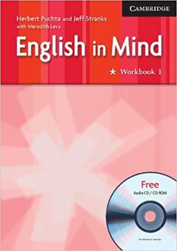 Робочий зошит English in Mind 1 WB w/CD