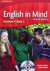 English in Mind 2nd Edition 1. Student's Book with DVD-ROM - фото обкладинки книги