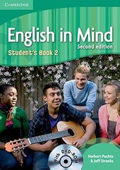 English in Mind 2nd Edition 2. Student's Book with DVD-ROM - фото обкладинки книги